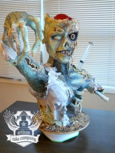 Zombie cake by Artisan Cake Company